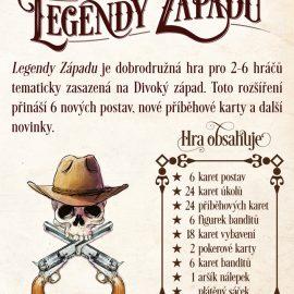 Hrst novinek – Legendy západu