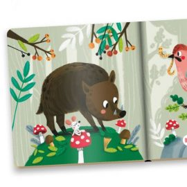 Minikniha Lesné zvieratká