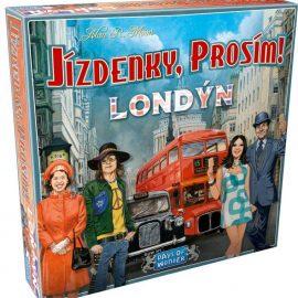 Jízdenky, prosím! Londýn