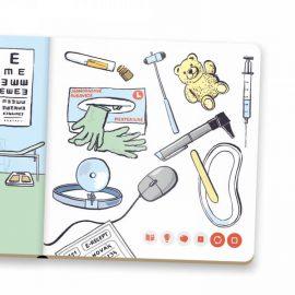 Kúzelné čítanie minikniha Lekár